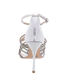 Sandália Silver Glam