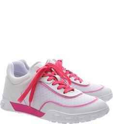 Tênis Lines Neon Pink