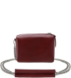 CROSSBODY DOUBLE SIDE NYLON RED