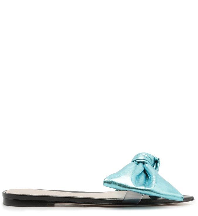 Slide Flat Lucy Blue | Schutz