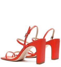 Sandália Strings Salto Red