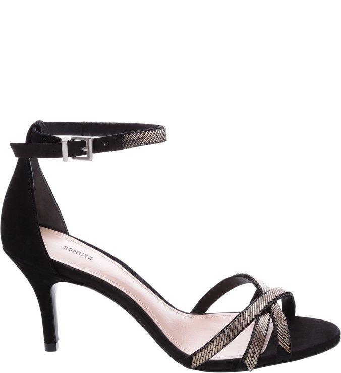 Sandália Kitten Heel Black