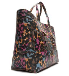 Shopping Bag Rib Me Animal Print Colors