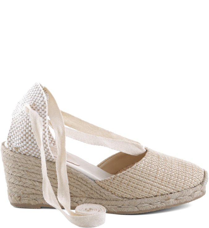 Espadrile Lace Up Crua