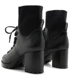 Bota Sock Knit Black