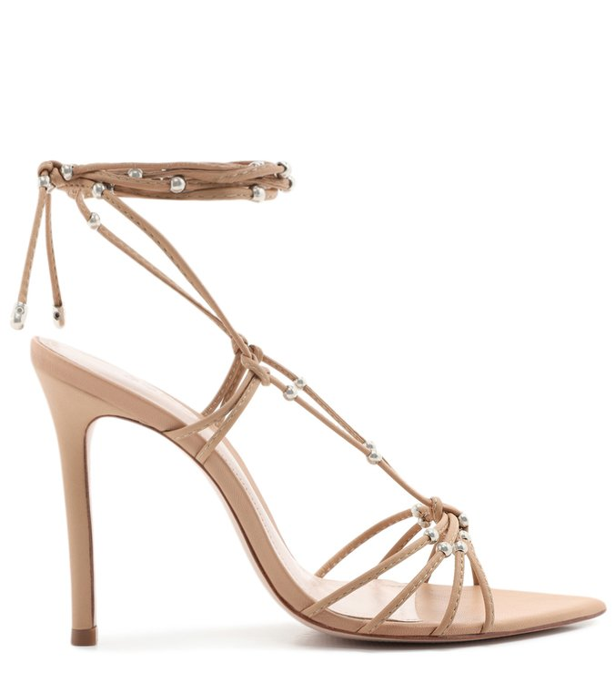 Sandália Strings Lace-Up Glam Honey