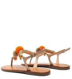 Rasteira Strings Fun Orange