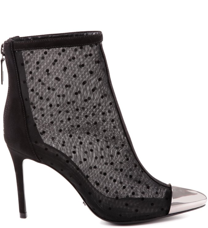 Ankle Boot Transparence Cap Toe