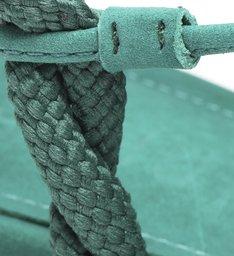 Sandália Block Heel Nobuck Green