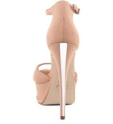 Sandália Minimal Plataforma Peach