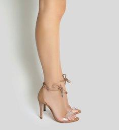 Sandália Vinil Changeable Nude Snake