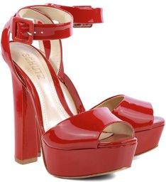 Sandália Seventies Verniz Red