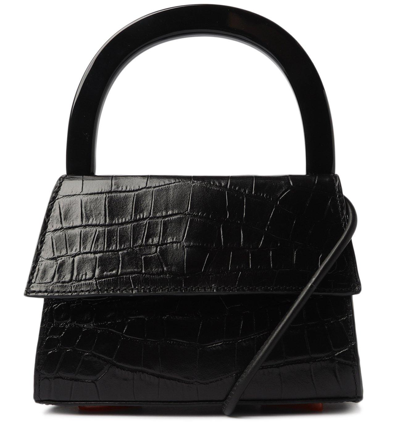 Schutz X Ginger Bolsa Top Handle Croco Black | Schutz