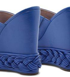 SANDÁLIA MULE PLATAFORMA AVERY BLUE