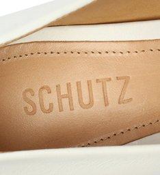 [Pre-Order] Sapato Scarpin Salto Nobuck Metalizado Branca