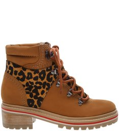 Bota Hiking Tratorada Animal Print