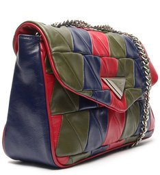 Bolsa Tiracolo New 944 Patchwork Multicores