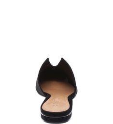 Flat Mule Cut Black