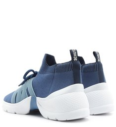 Tênis Classic Sporty Knit Blue