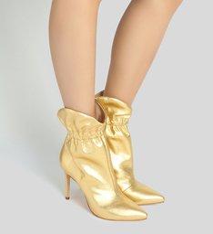 Bota Salto Fino Golden