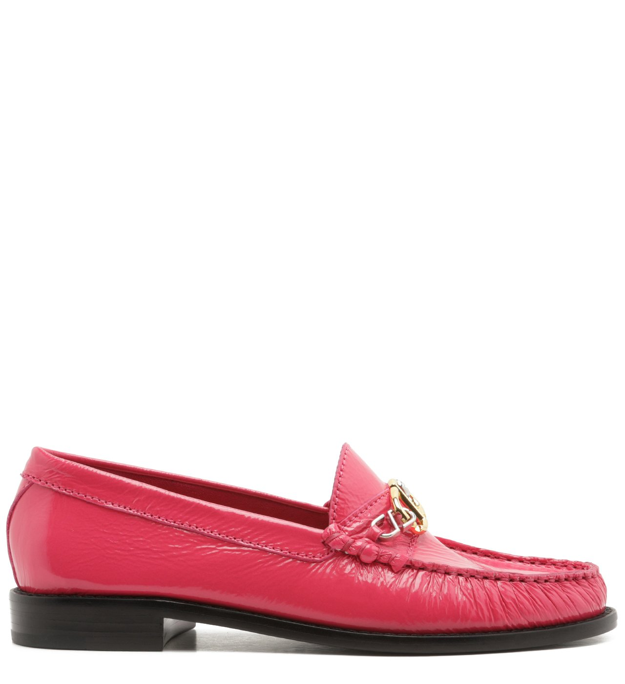 Mocassim Leather Verniz Pink | Schutz