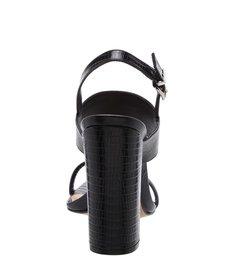 Sandália Salto Straps Black