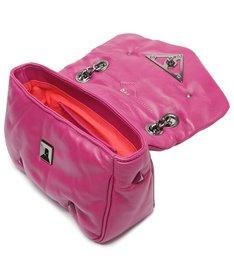 Bolsa Tiracolo Pequena Couro 944 Pink