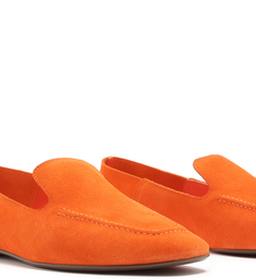 LOAFER SUEDE POP ORANGE