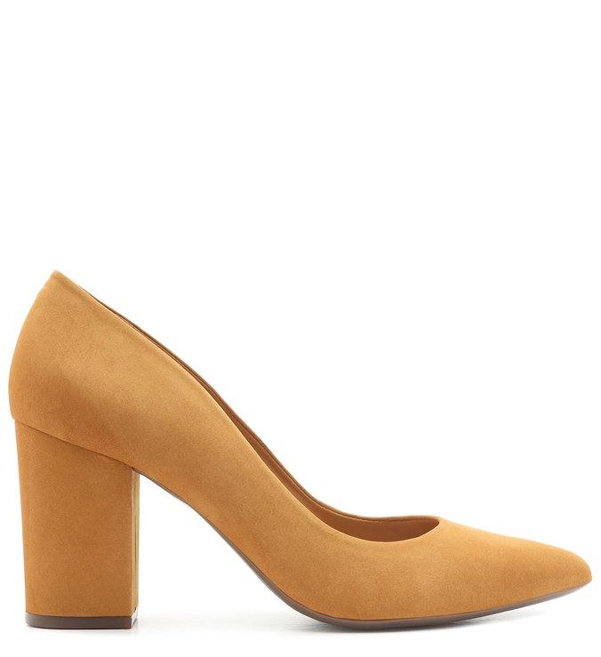 Scarpin Block Heel Nobuck Siena | Schutz