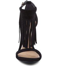 Sandália Fringes Black
