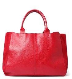 Bolsa Shopping Kimber Couro Vermelha