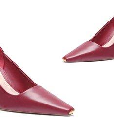 Scarpin New Classic Mid Heel Red