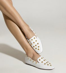 Loafer MaxiStuds White