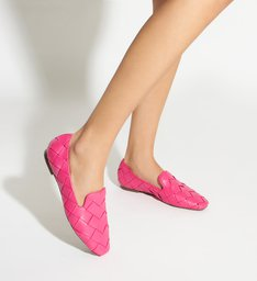 Loafer Trama Leather Pink