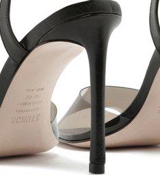 Sandália AMY Vinil Full Color Black