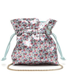 Crossbody Bucket Liv Blue/Flowers