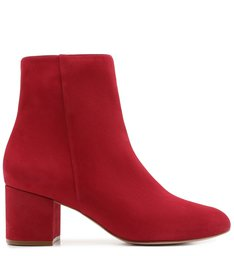 BOTA BLOCK HEEL NOBUCK RED