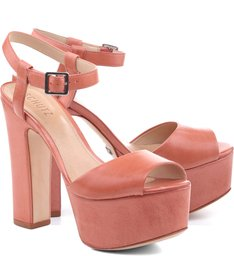 Sandália 70'S Heel Clay