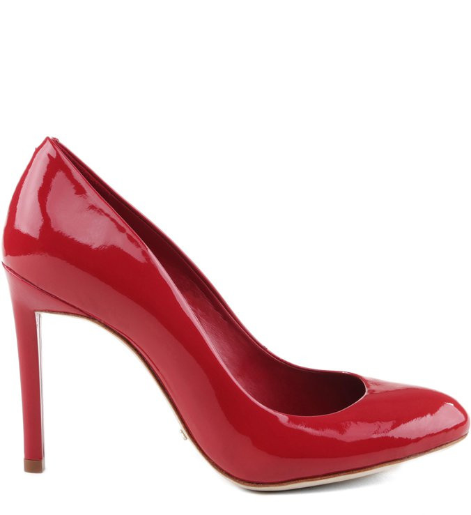 Scarpin Round Red