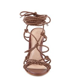 Wedge Cross Lace Up Suflair