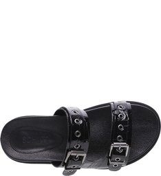 Slide Tratorada Croco Black