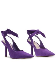 Scarpin Slingback Purple