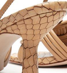 Sandália Salto Trança Honey