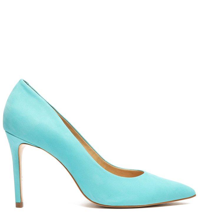 Sapato Scarpin Neon Azul