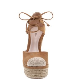 Bella Anabela Lace Up Desert