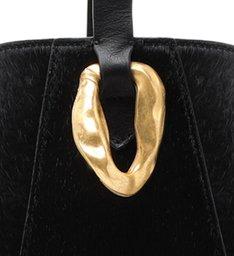 Bucket Bag Ully Bright Snake Black