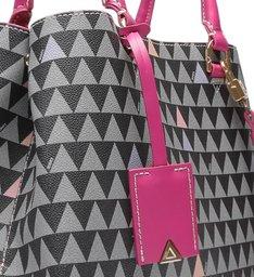 Tote Lara Triangle Pink