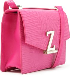 Crossbody Square Letters Pink