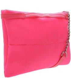 Crossbody Fluffy Neon Pink