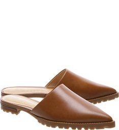 Flat Mule Tratorada Brown